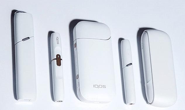 IQOS три модели в белом цвете