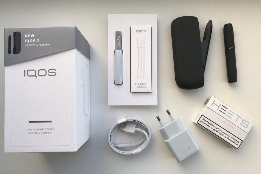 Распаковка IQOS 3 DUOS